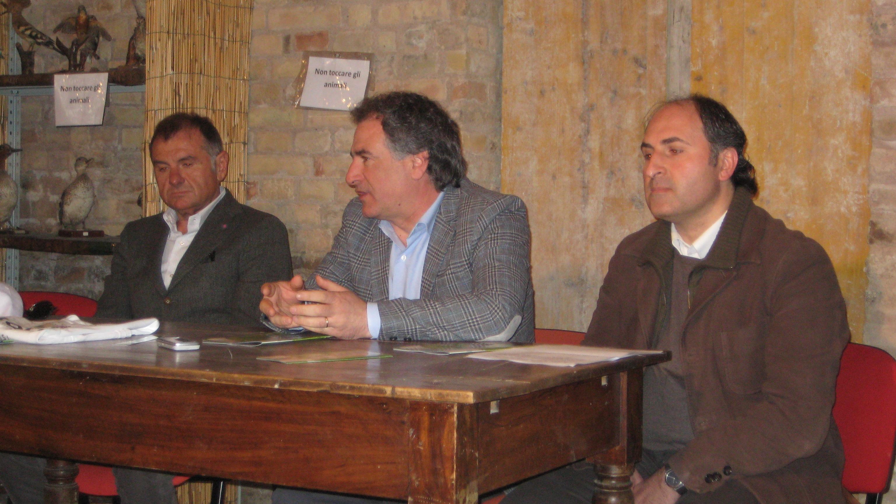 Emidio Mandozzi, Angelo Canala, Giulio Ficcadenti