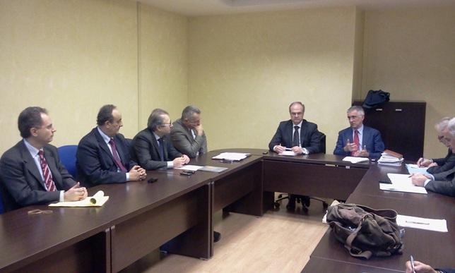 Accordo dei responsabili regionali Marche Abruzzo sul protocollo d'intesa Vibrata-Tronto