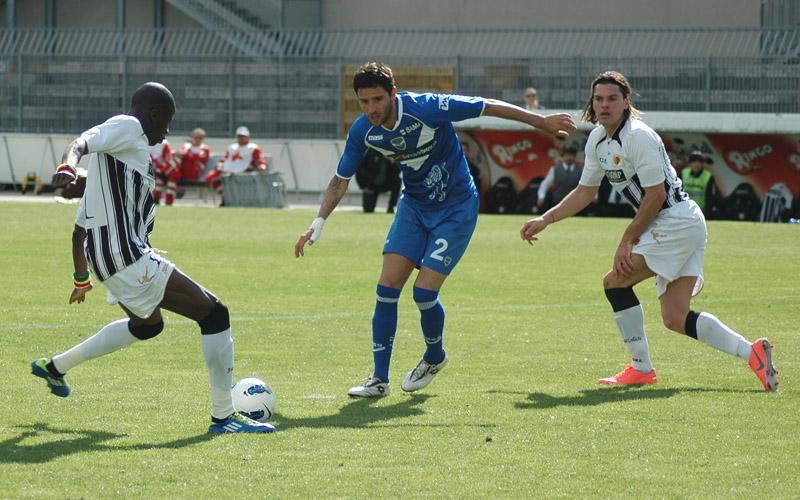 Papa Waigo gol 3-1 al Brescia (giammusso)