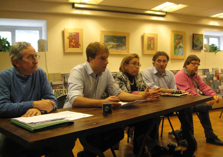I consiglieri comunali del Pd Ascoli