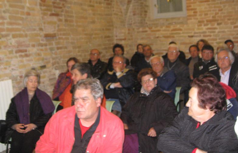 Il pubblico presente all'assemblea
