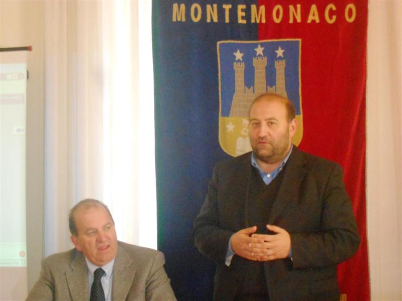 Da sinistra Onorato Corbelli e Andrea Maria Antonini