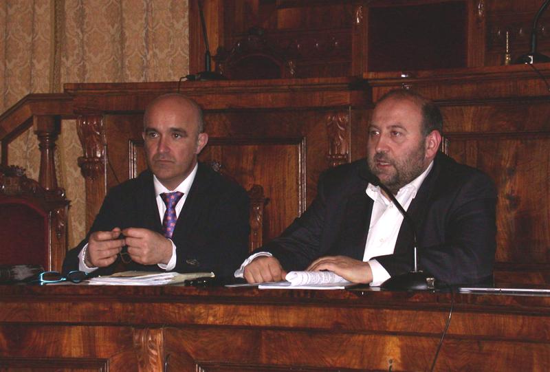 La presentazione del Piano presso Palazzo San Filippo