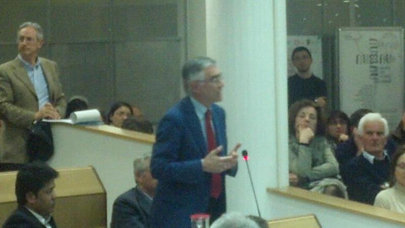 Canzian al consiglio comunale di San Benedetto (30 marzo 2012)