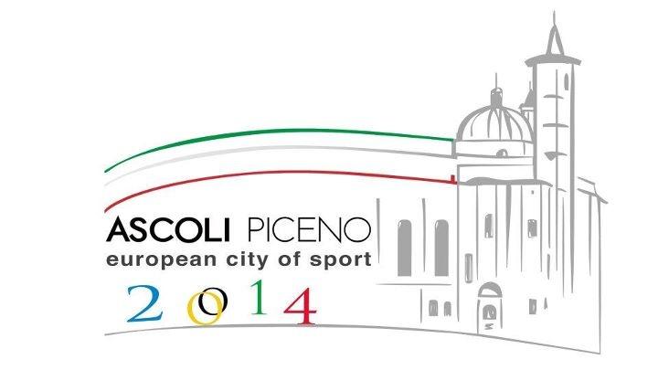 Il logo di Ascoli città europea dello sport 2014