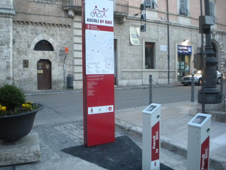 Bike Sharing, Piazza Roma