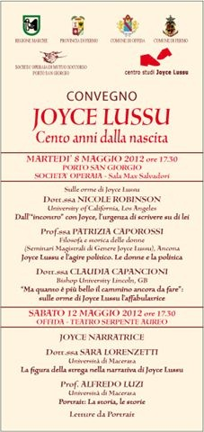 Locandina del convegno Joyce Lussu (1)