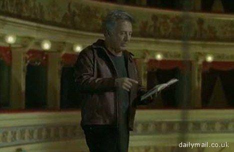 Dustin Hoffman al Ventidio Basso