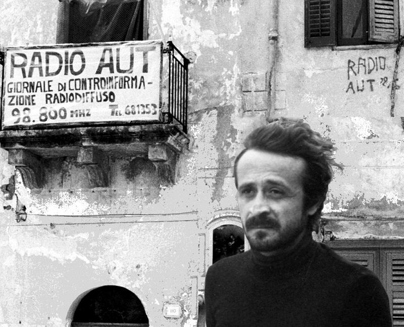 Peppino Impastato e la sua Radio Aut