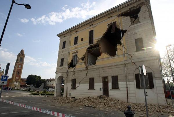 Terremoto in Emilia-Romagna del 20 maggio (iljournal.it)