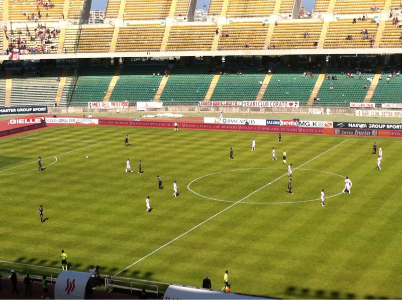 Bari-Ascoli  dello scorso campionato