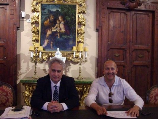 Davide Aliberti e Pier Mario Maravalli