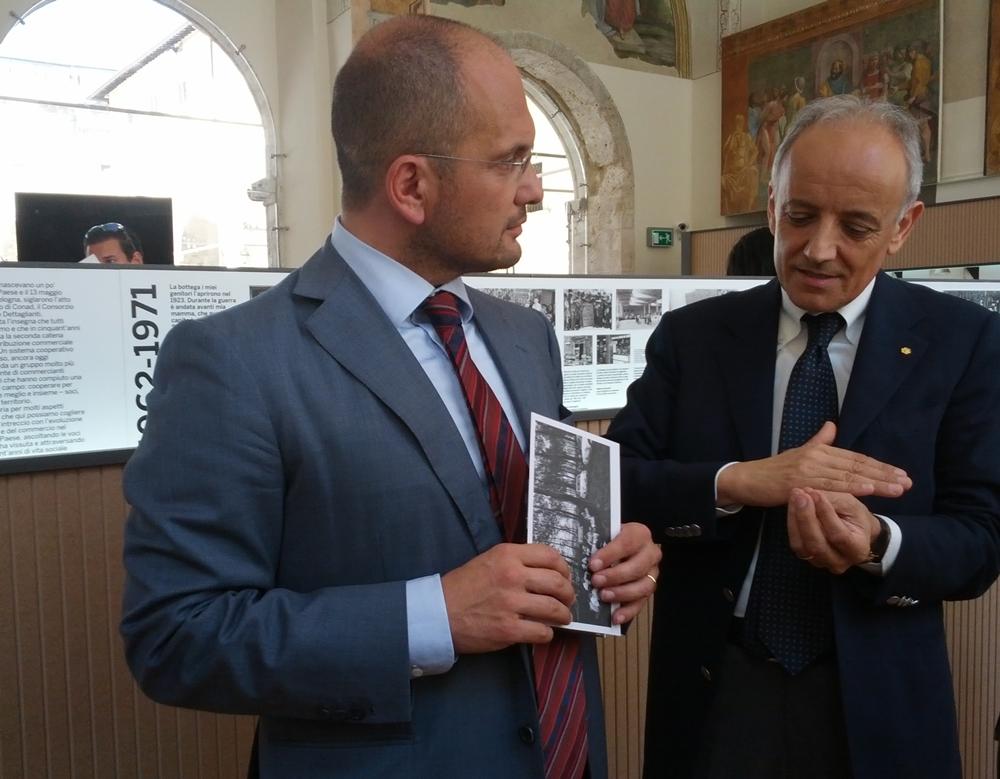 Guido Castelli e Antonio Di Ferdinando