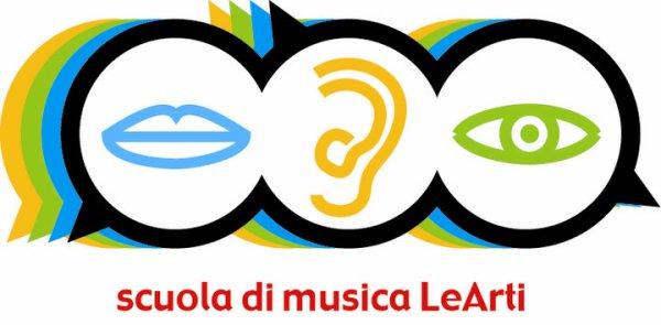 logo scuola di musica LeArti