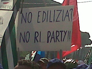Una manifestazione di protesta