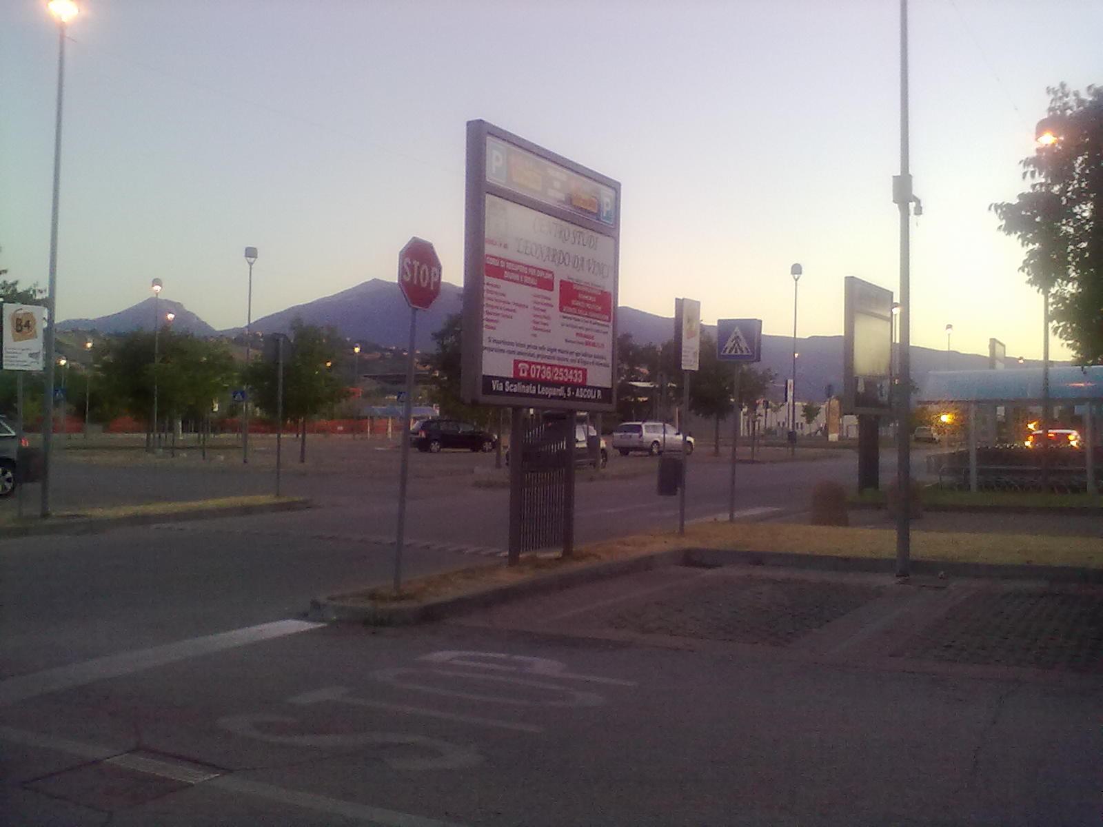 Parcheggio di Città delle Stelle