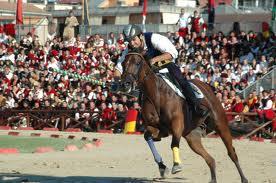 Assalto di un cavaliere (Foto quintanaromoderno.blogspot.com)