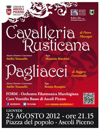 Cavalleria Rusticana e Pagliacci (Locandina)