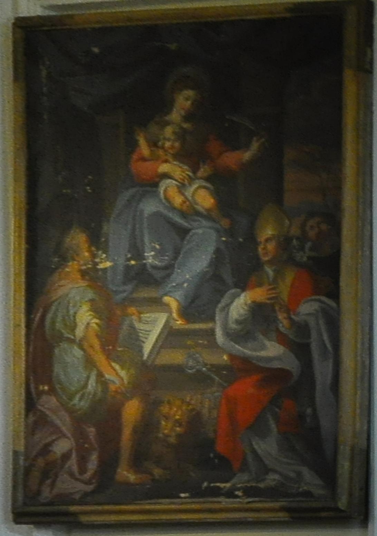Madonna, San Marco e Sant' Emidio