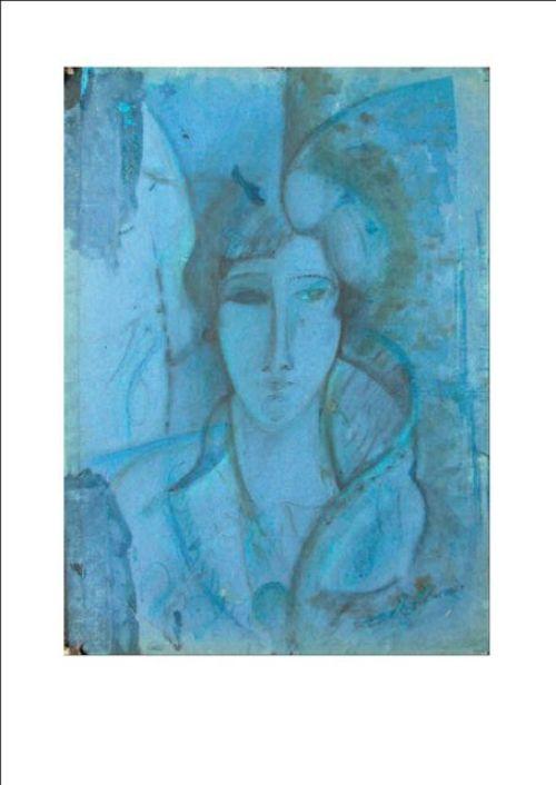 Modigliani, Ritratto di Hanka Zborowska