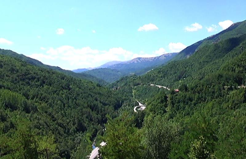 panorama piceno, gita di Vivendo il Piceno in percorsi sorsi e morsi