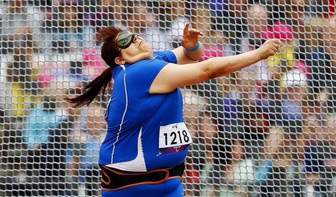 Assunta Legnante oro alle ParaOlimpiadi di Londra