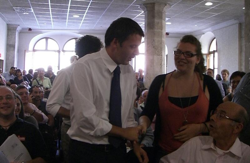 Matteo Renzi alla Sala Docens di Ascoli