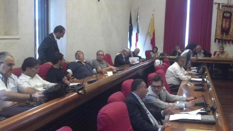 Consiglio comunale di Ascoli, banchi del centrodestra