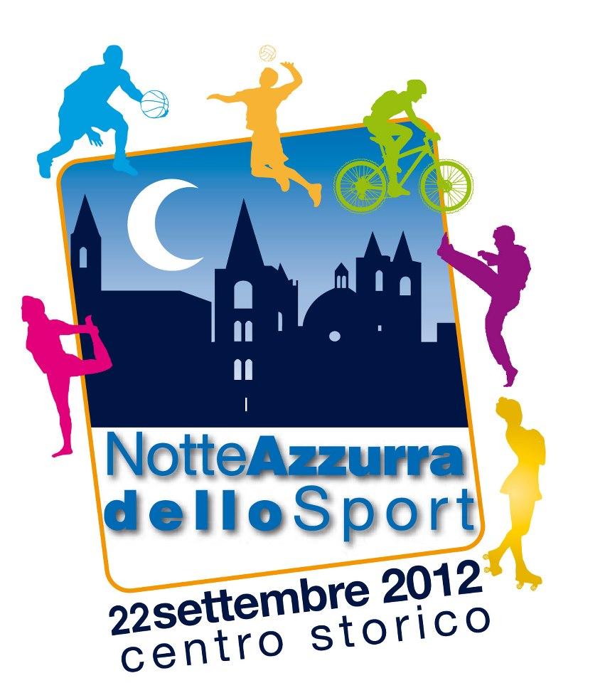Locandina Notte Azzurra dello Sport ( foto www.ascolidavivere.it)