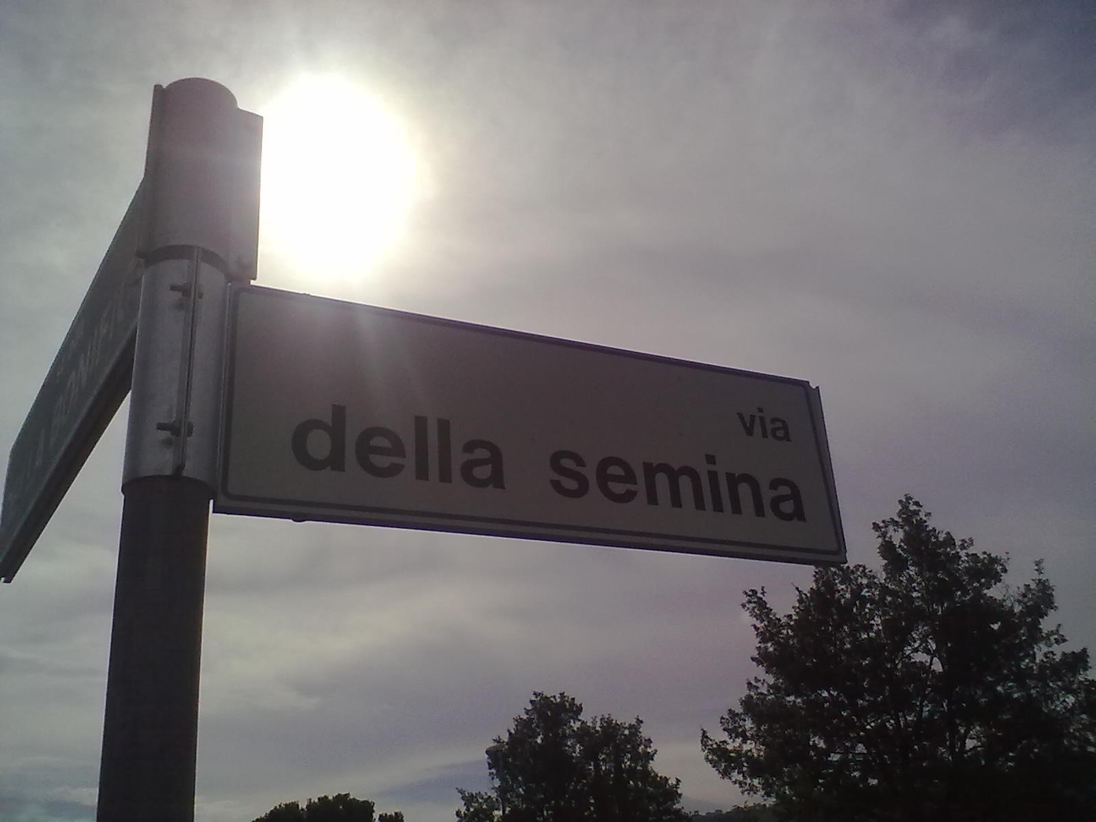 Via della Semina