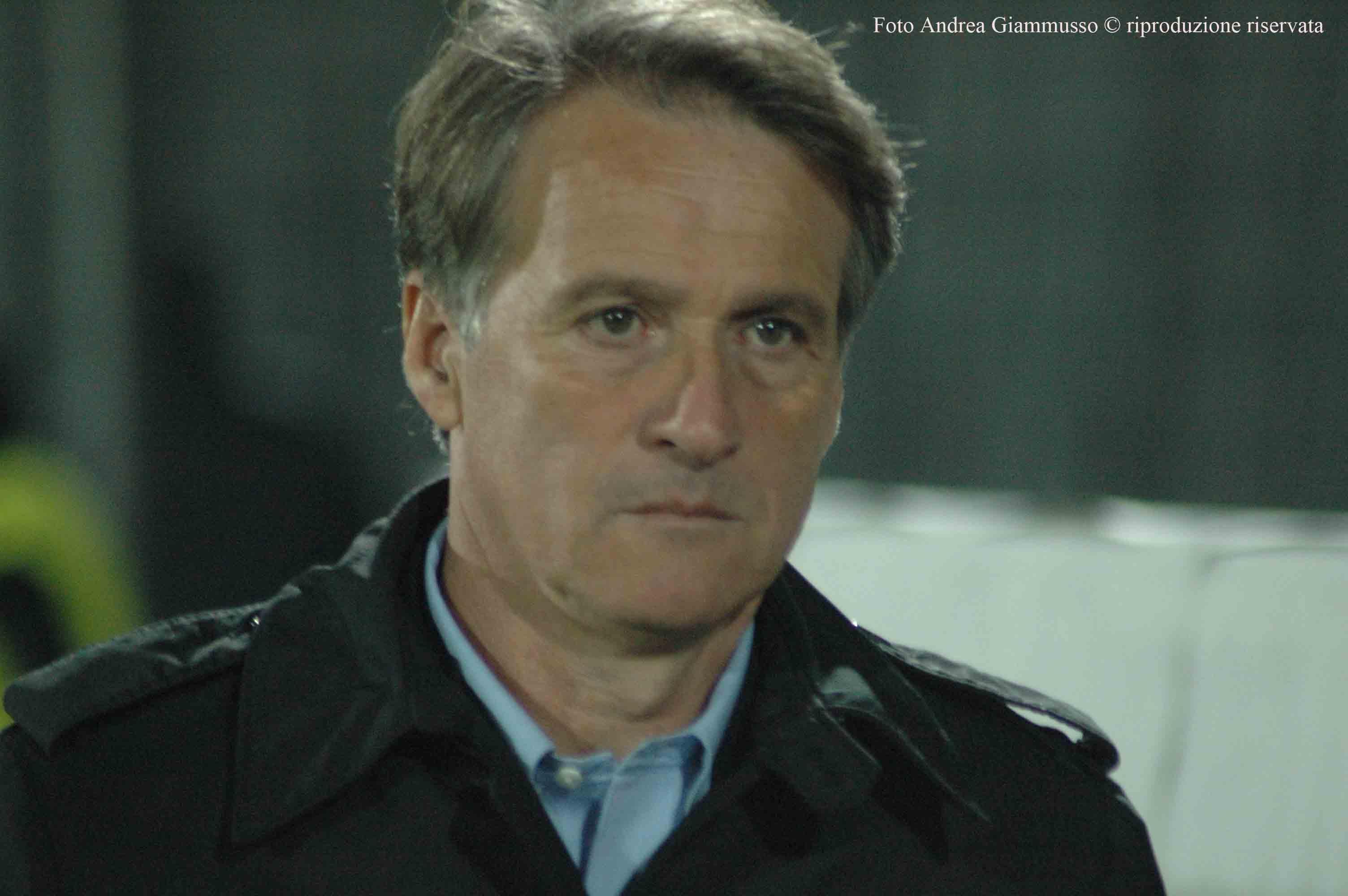 Attilio Tesser, amaro ritorno al Del Duca per il tecnico del Novara (foto Giammusso, riproduzione vietata)