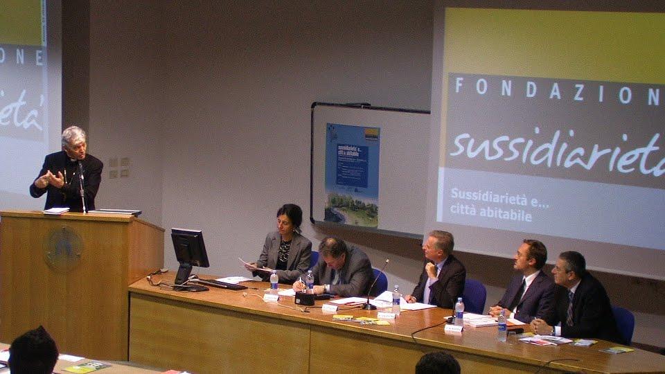 Il convegno alla Facoltà di Economia di Ancona con rappresentanti delle fondazioni tra cui la Cariasap e la San Giacomo della Marca