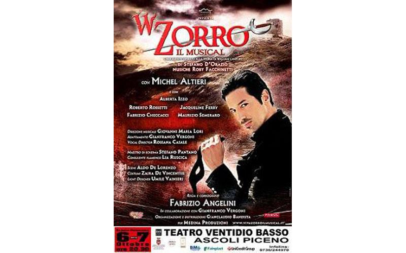 La locandina di W Zorro