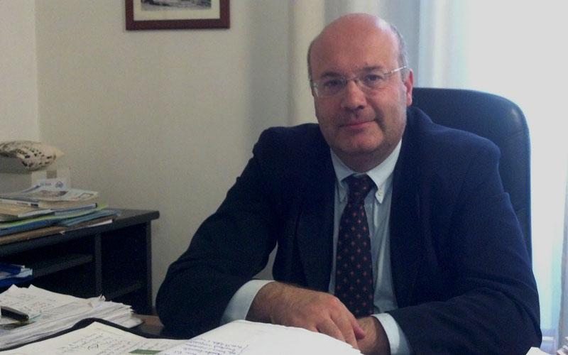 L'assessore ai Lavori Pubblici e vicesindaco di Ascoli Gianni Silvestri