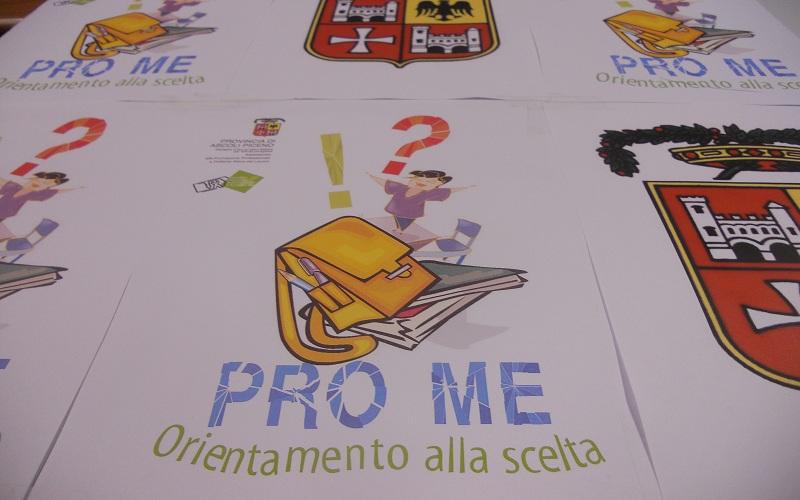 Locandina uffciale del progetto Pro.Me