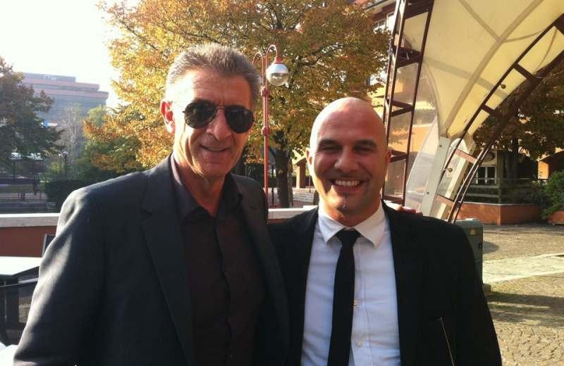 Premio Tonino Carino 2012 a Ezio Greggio con il sindaco Valerio Lucciarini