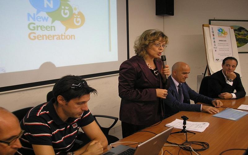 Prof.ssa Rosanna Moretti, dirigente scolastico dell'Istituto Fazzini