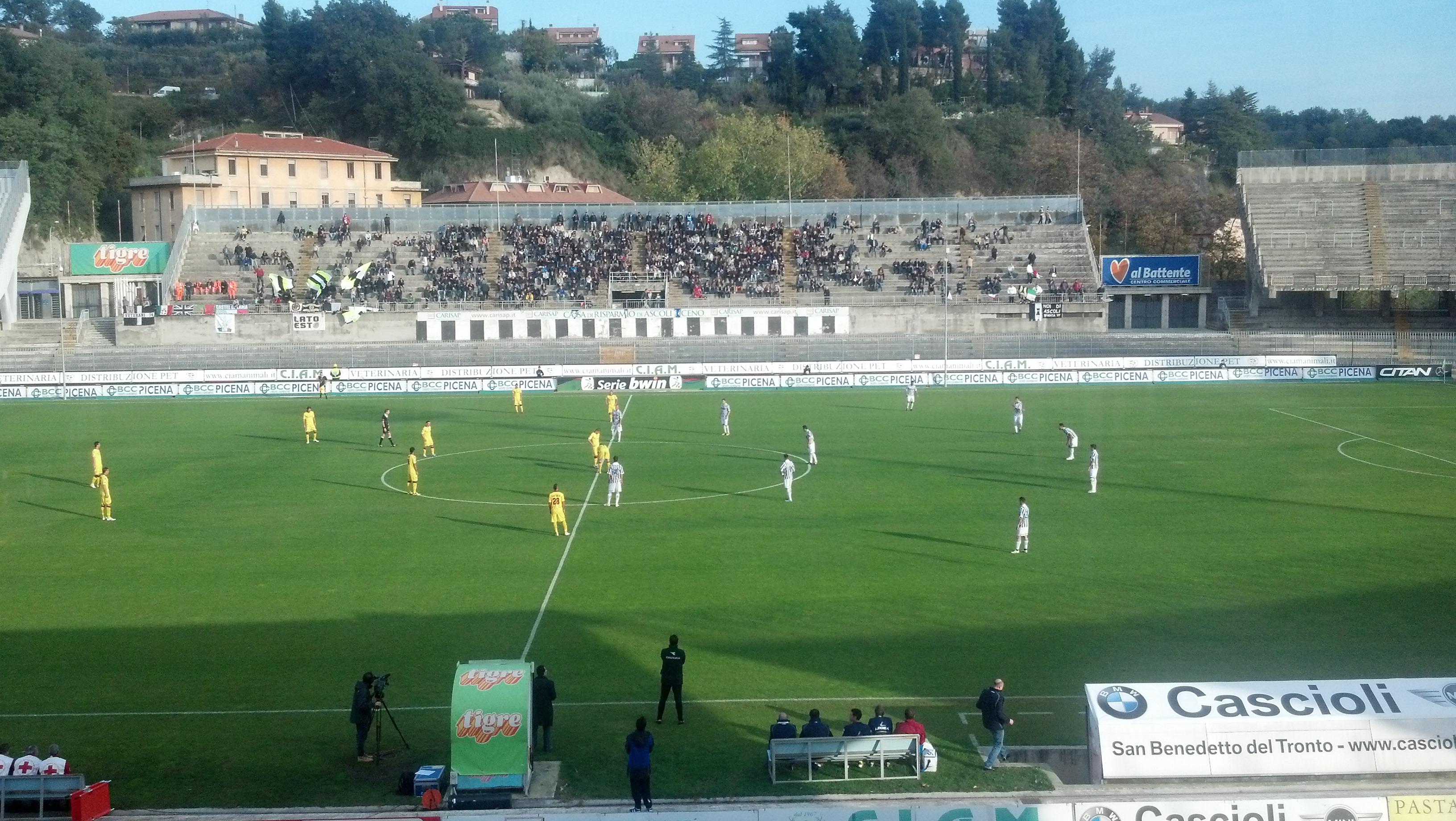 Ascoli-Livorno dell'andata
