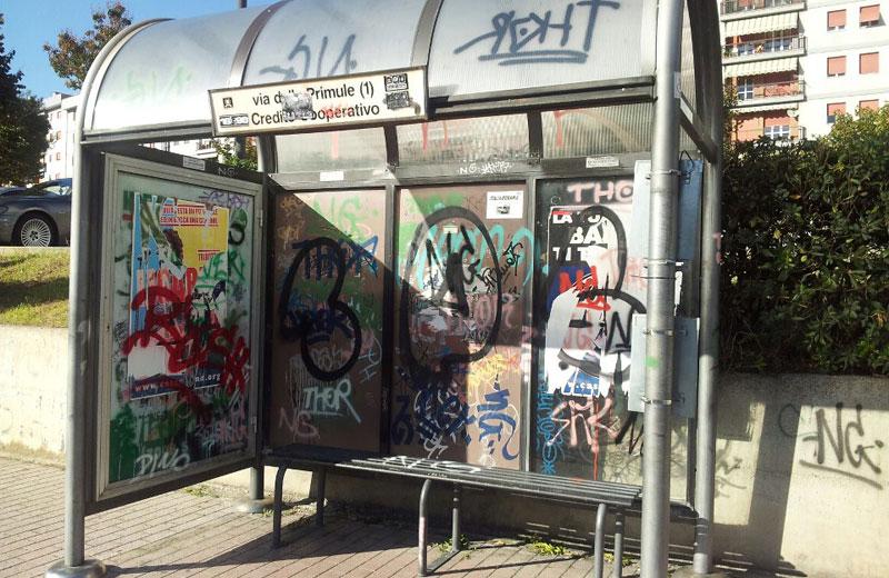 Writers e degrado urbano ad Ascoli, le critiche dell'Udc