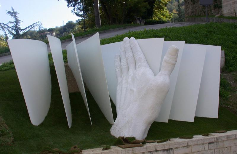 Una delle opere del museo interattivo