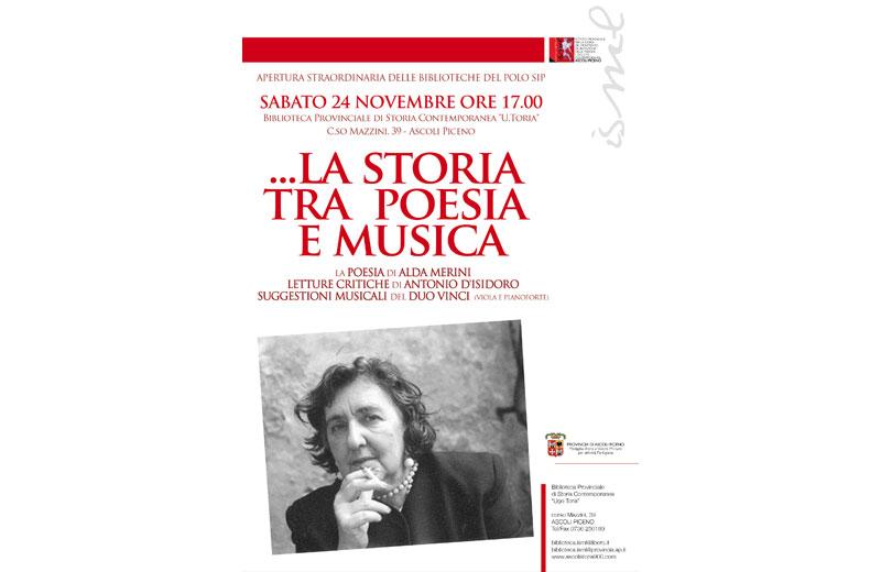 Alda Merini, la storia tra poesia e musica