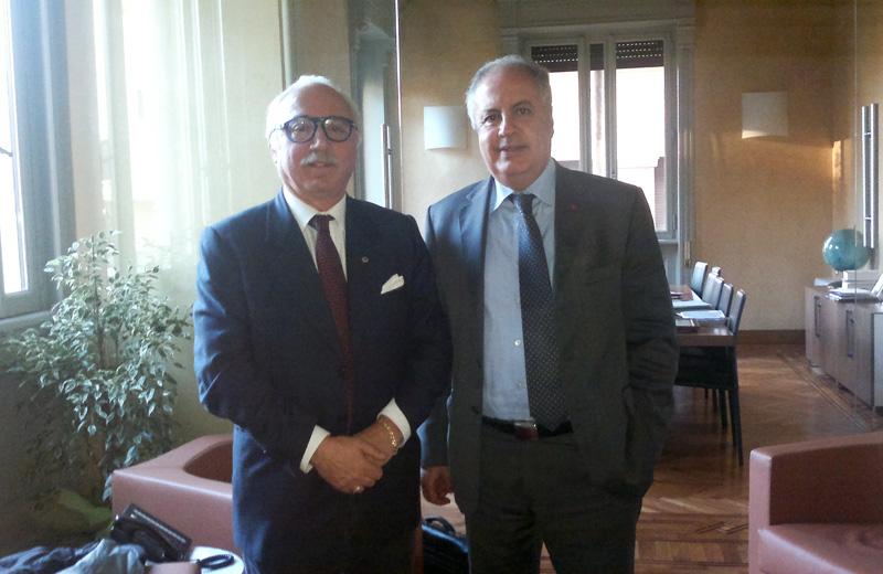 L'incontro tra l'avvocato Barboni e l'ambasciatore del Marocco