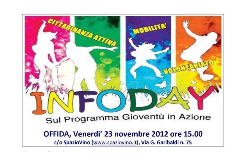 Infoday sul programma Gioventù in Azione