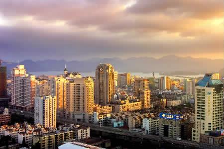 La città di Hangzhou