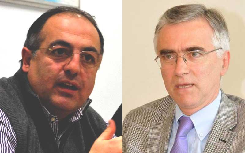 Luciano Agostini e Antonio Canzian