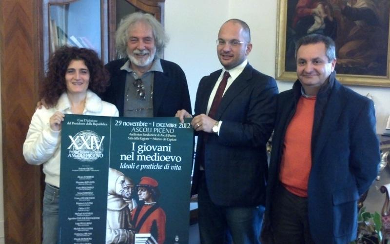Martina Cameli, Luigi Morgani, Guido Castelli, Luigi Contisciani