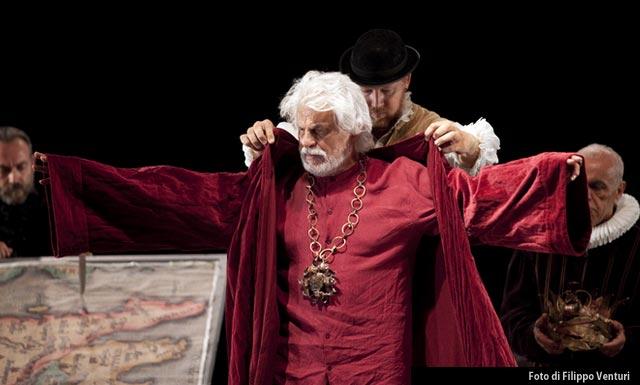 Michele Placido in Re Lear, foto di Filippo Venturi