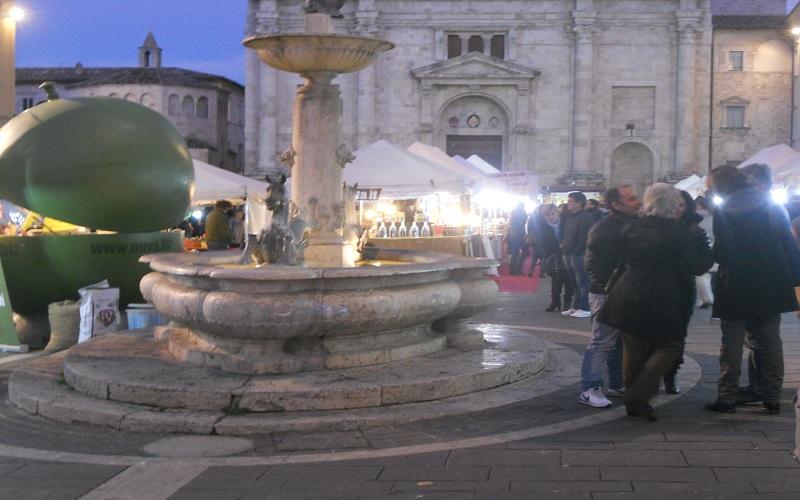 Piazza Arringo ospita