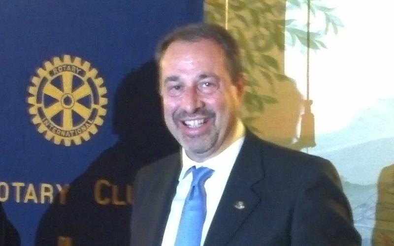 Stefano Baglioni, presidente del Rotary Club di Ascoli