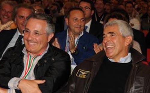 Amedeo Ciccanti e Pierferdinando Casini